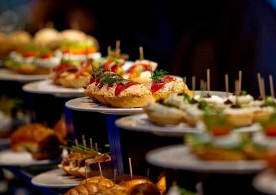 "Typical ""pintxos"" in Bilbao, Basque Country"