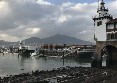 Getxo - View of port